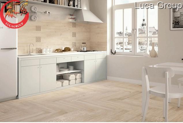 Tủ bếp bằng gỗ công nghiệp siêu đẹp
